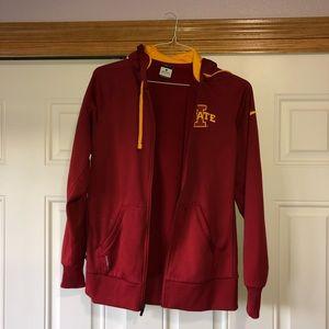 Iowa State Nike Zip Up